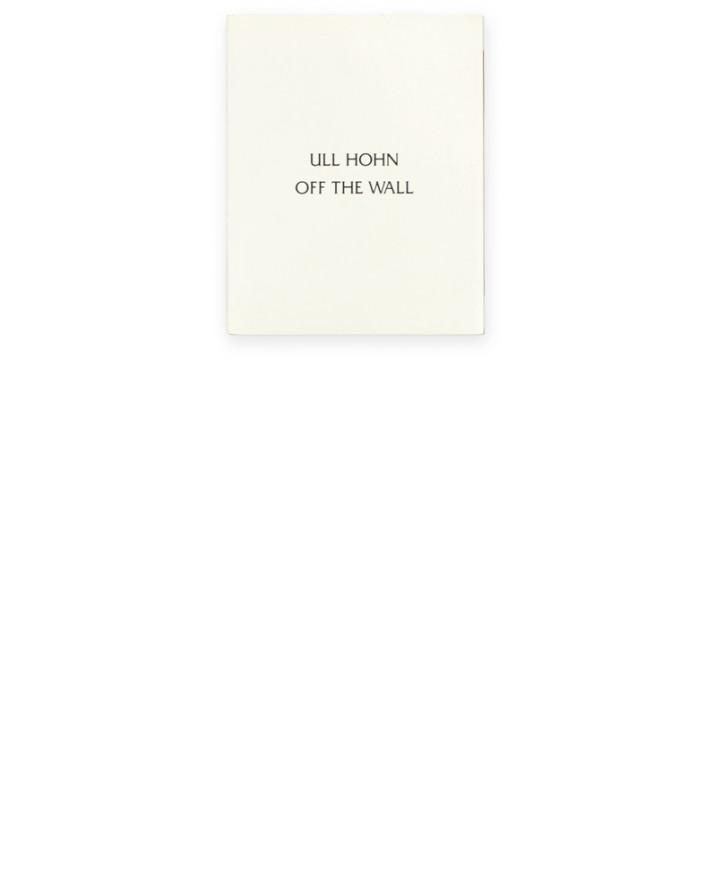 Ull Hohn Off the Wall thumb 01 Galerie Neu