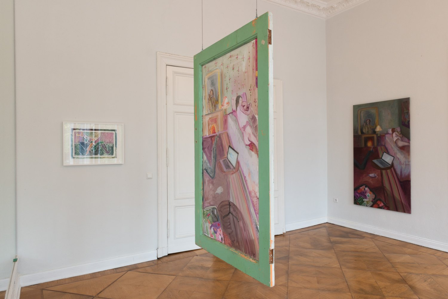 Four Rooms Installation view, Galerie Neu / MD72, Berlin 2017
