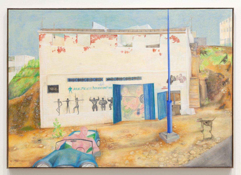 Katharina Wulff Untitled, 2016 Oil on canvas, 167 x232,1 cm