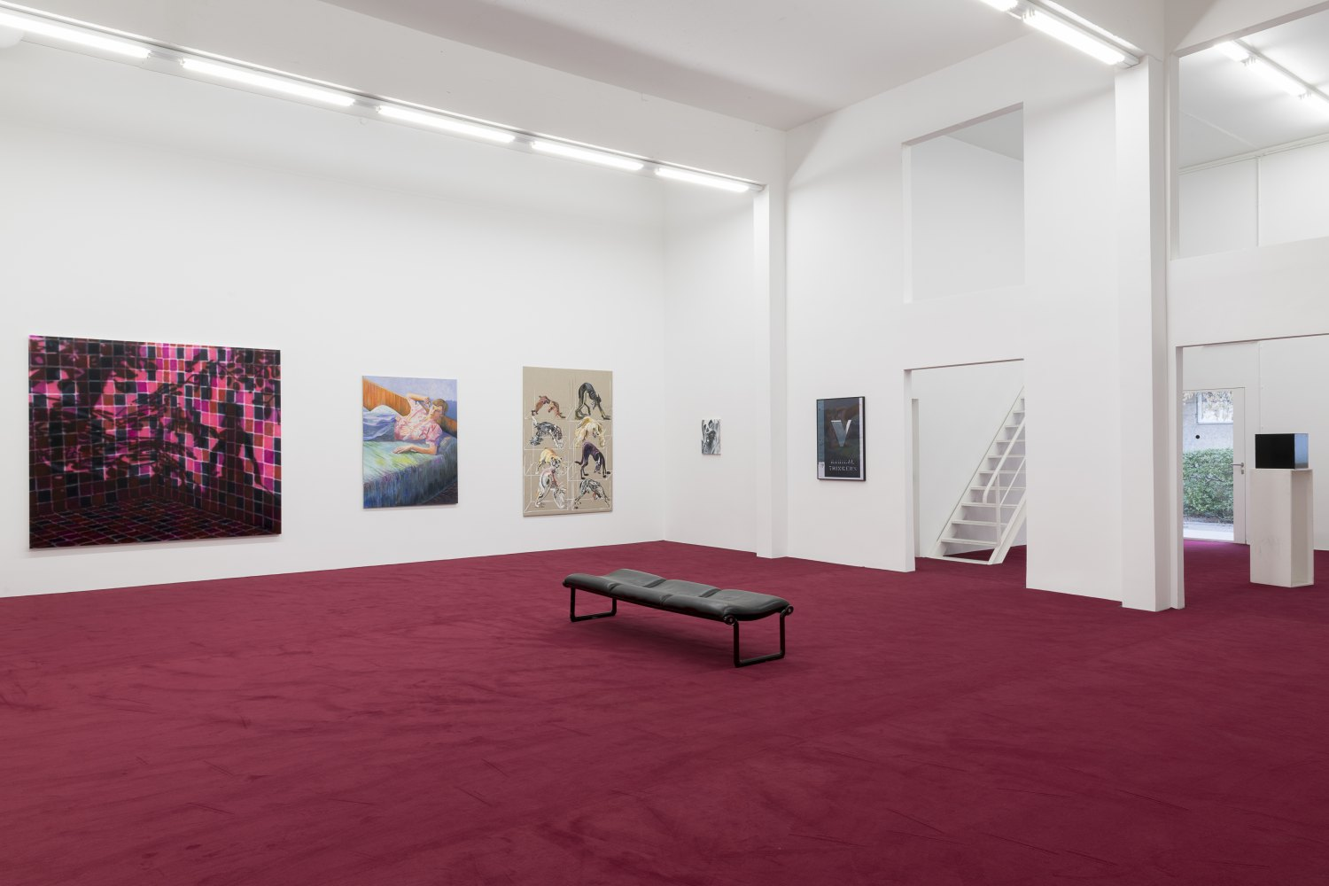 The Vitalist Economy of Paintingcurated by Isabelle Graw Installation view, Galerie Neu, Berlin, 2018