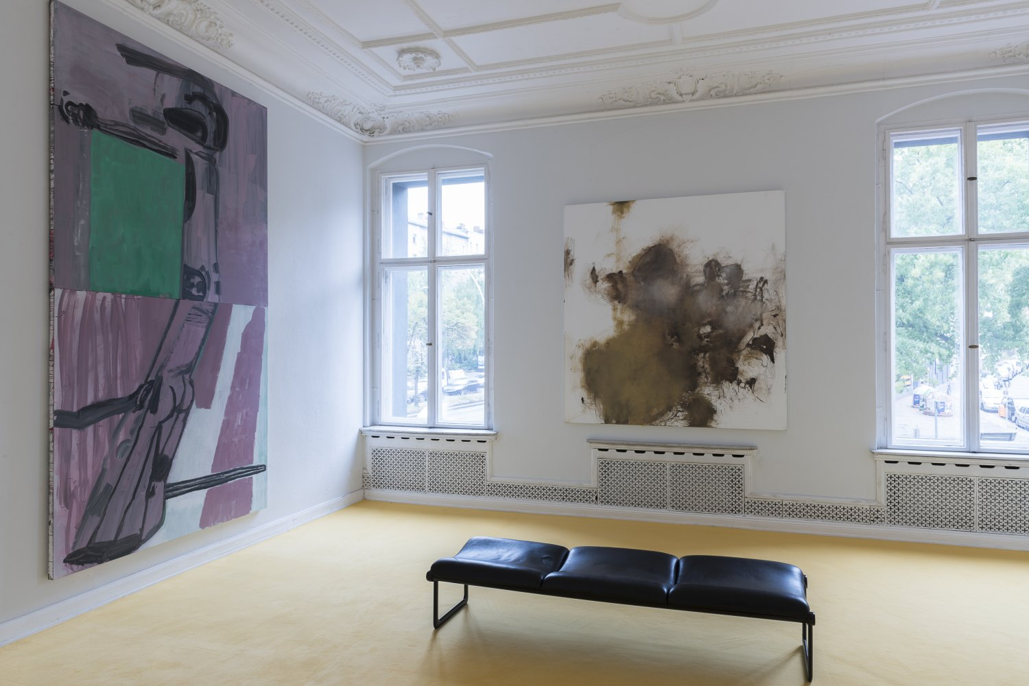 The Vitalist Economy of Painting curated by Isabelle Graw Installation view, Galerie Neu, Berlin, 2018