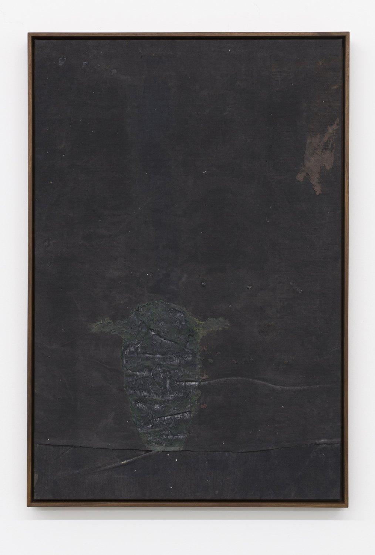 Sergej Jensen Untitled, 2015 Acrylic on linen, 90 x 60 cm