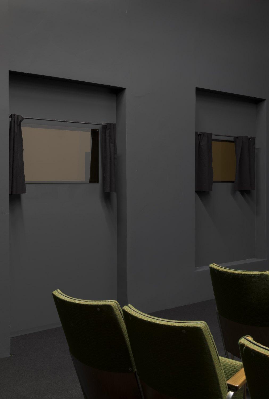 Installation view, Daniel Pflumm, Galerie Neu, Berlin, 2019