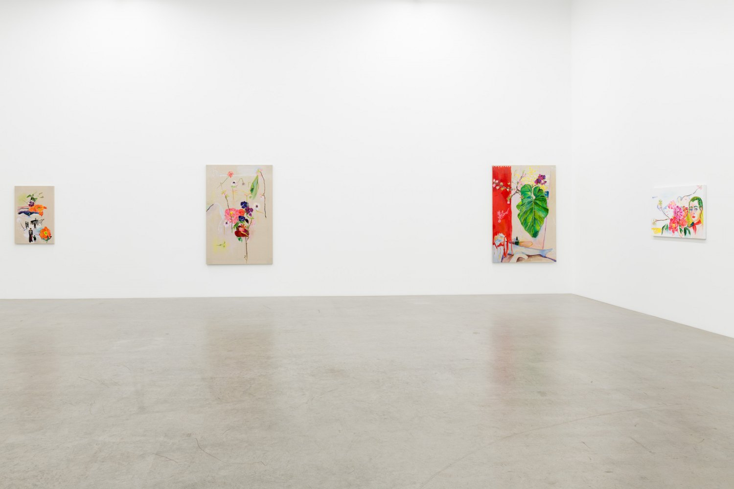 Installation view, Emily Sundblad, Toilet Feelings Are Normal, Galerie Neu, 2019
