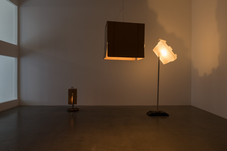 Installation view, Klara Lidén, Berlin Fall, Galerie Neu, Berlin, 2019