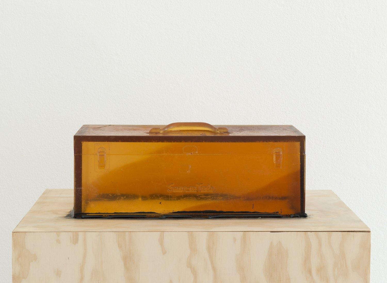 Alex Hubbard Studio 1, 2014   Urethane and MDF, 20.2 × 50.9 × 19.9 cm