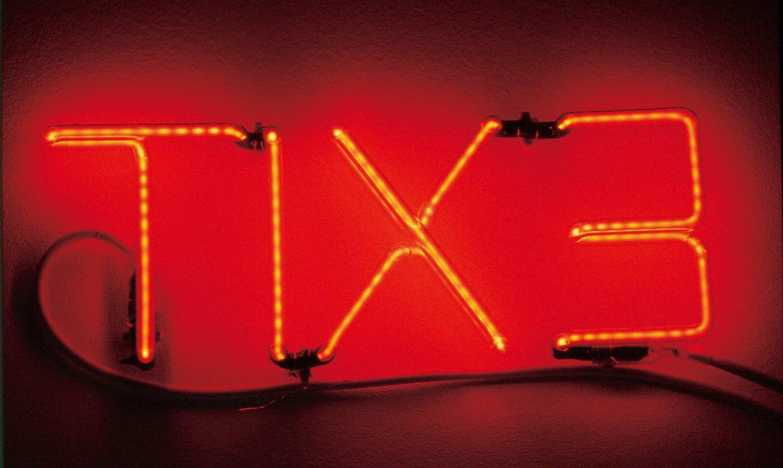 Cerith Wyn Evans   Exit, 1996    Neon,  14 × 34 × 2 cm