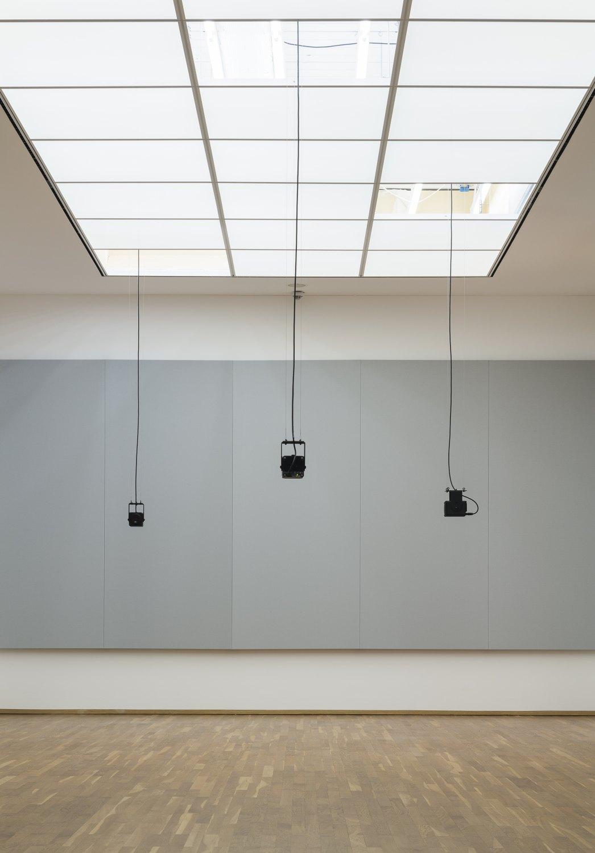 Florian Hecker, Formulations Installation view, Hamburger Bahnhof, Berlin 2015