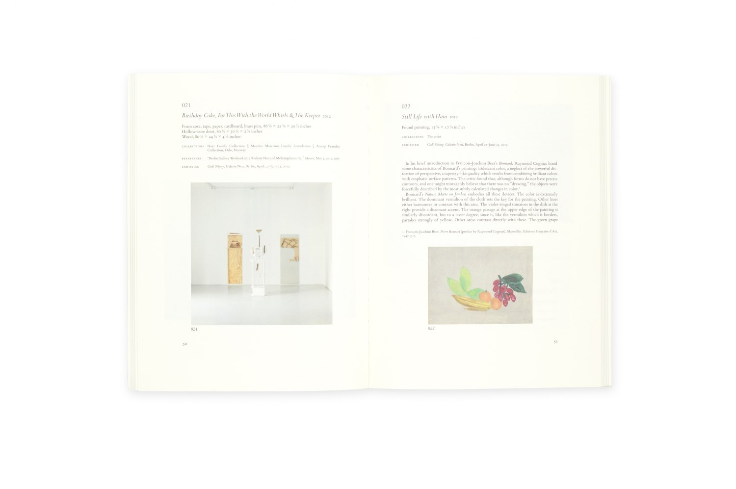Gedi Sibony, Painting, Drawing & Sculpture: Collected Works. Volume III ed. by Mousse Publishing, Milano 2014, 144 p.  ISBN 978-8-86749-193-3