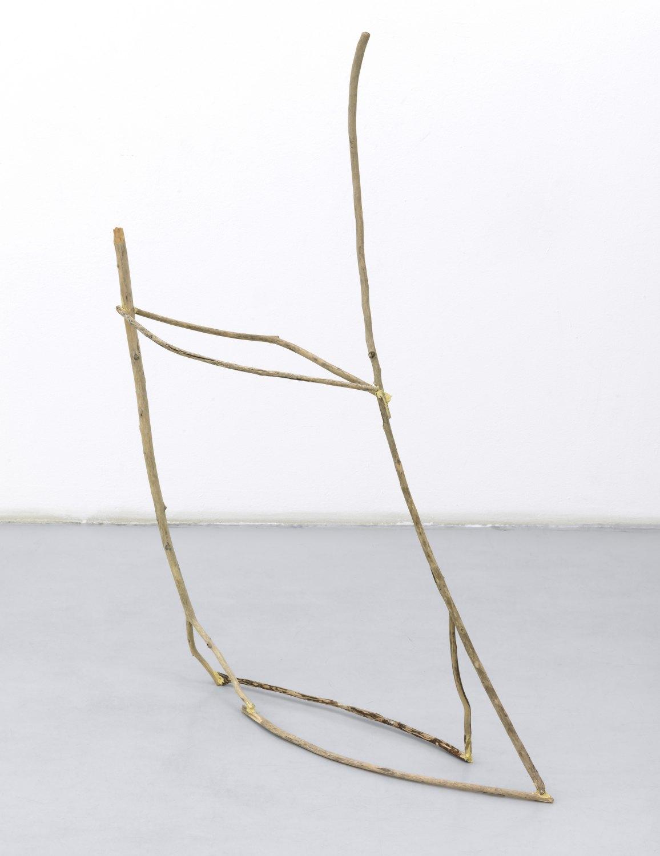Gedi Sibony   To Be Of, 2009    Sticks, glue,  112 × 142 × 13cm