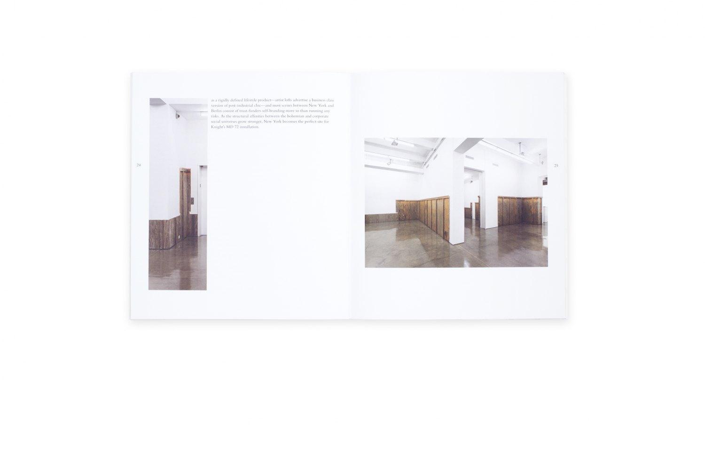 John Knight, Bohemian Grove  Catalogue, Galerie Neu / MD 72, Berlin 2013, 30 p.