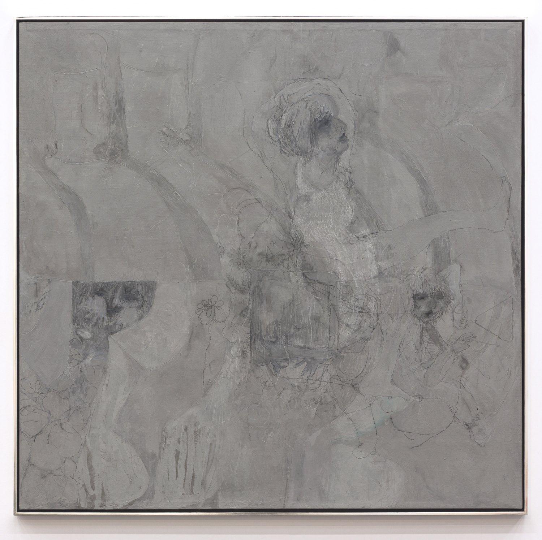 Kai Althoff Untitled, 2014 Mixed media, 125 × 128 cm