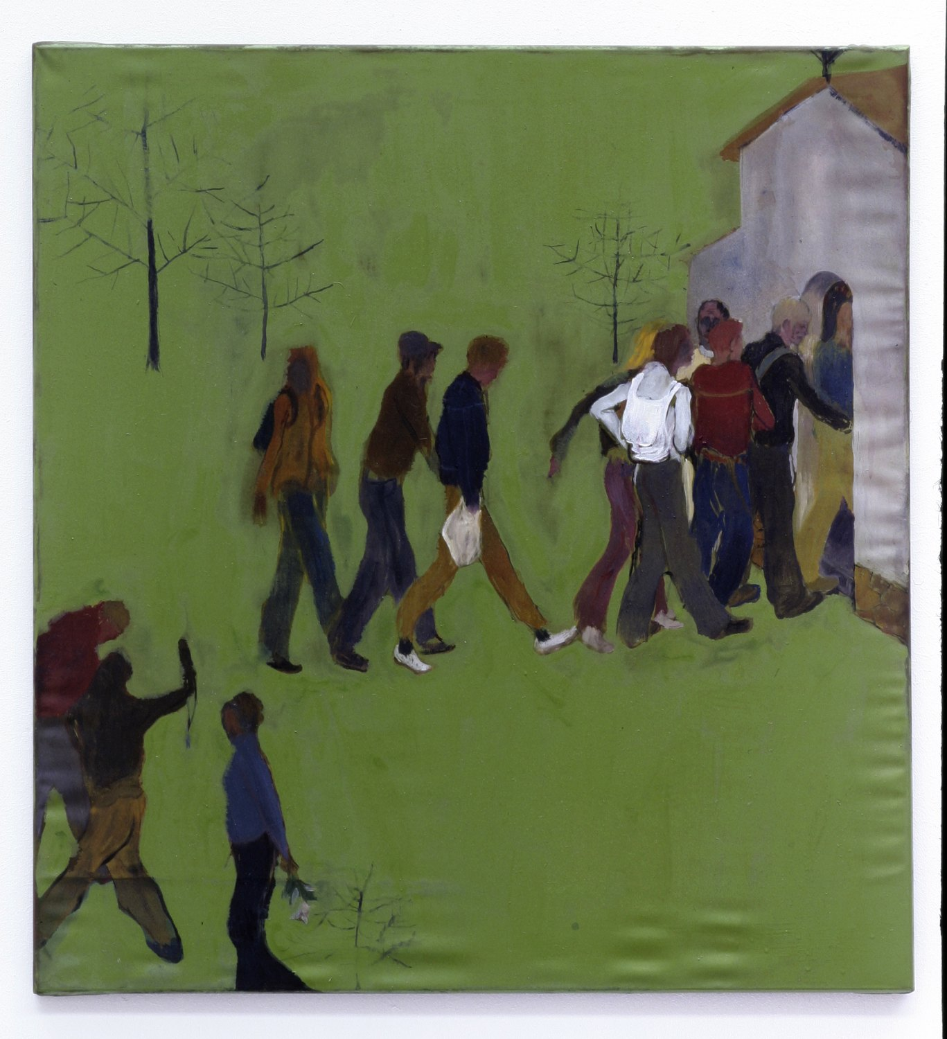 Kai Althoff Untitled, 2004 Oil on canvas, 70 × 64.5 cm