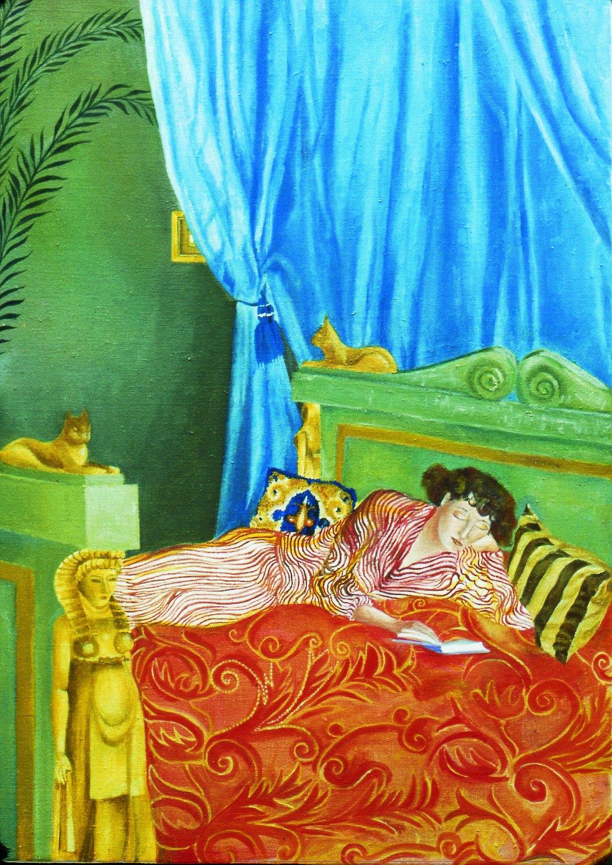 Katharina Wulff   Untitled, 2002    Oil on canvas,  85 × 61 cm
