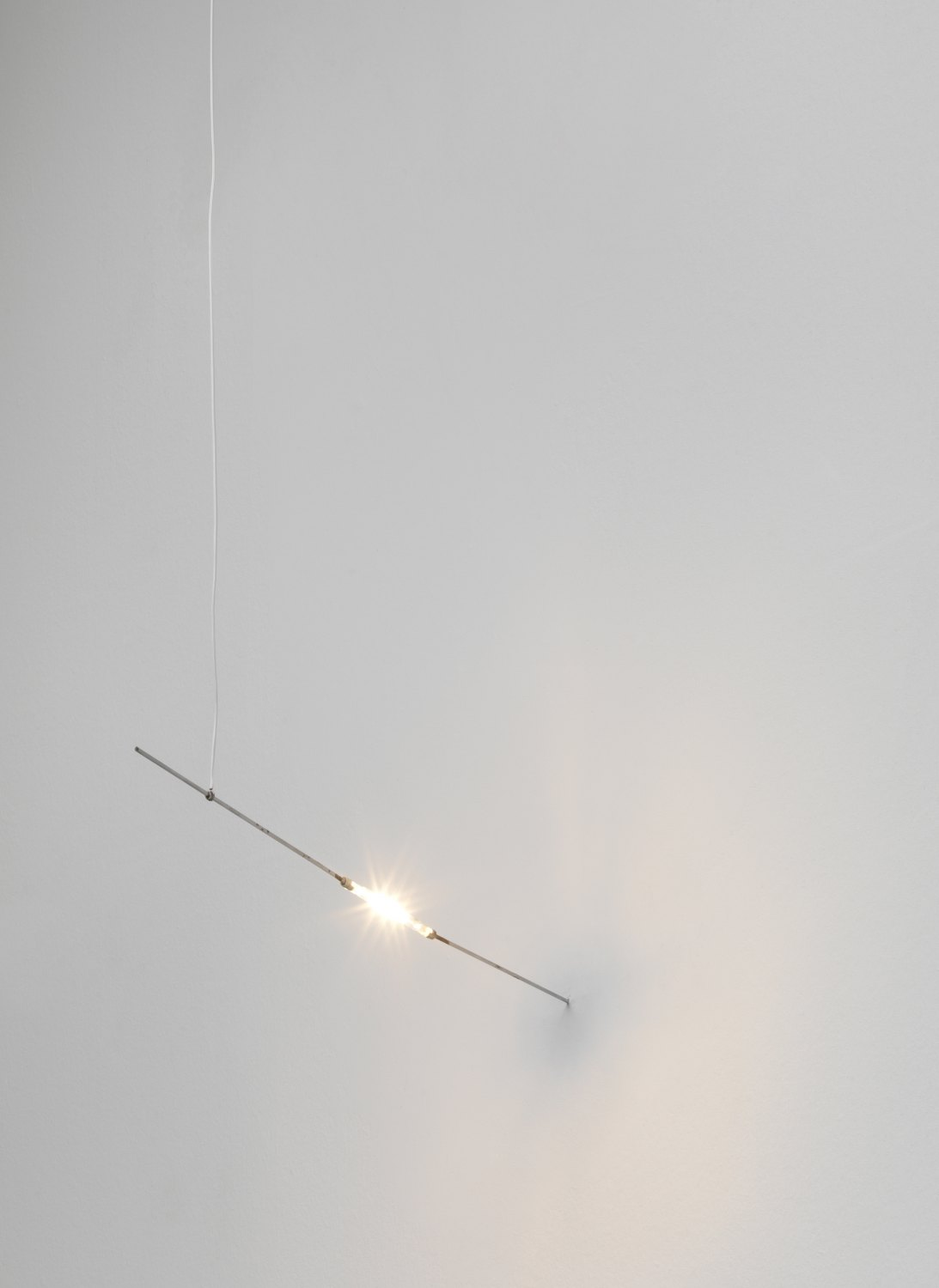 Kitty Kraus Untitled, 2011 Halogen lamp and cable, dimensions variable