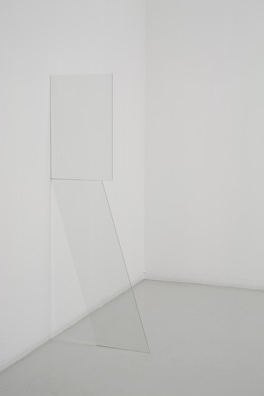 Kitty Kraus Untitled, 2006 Glass, 171 × 68 × 0.5 cm
