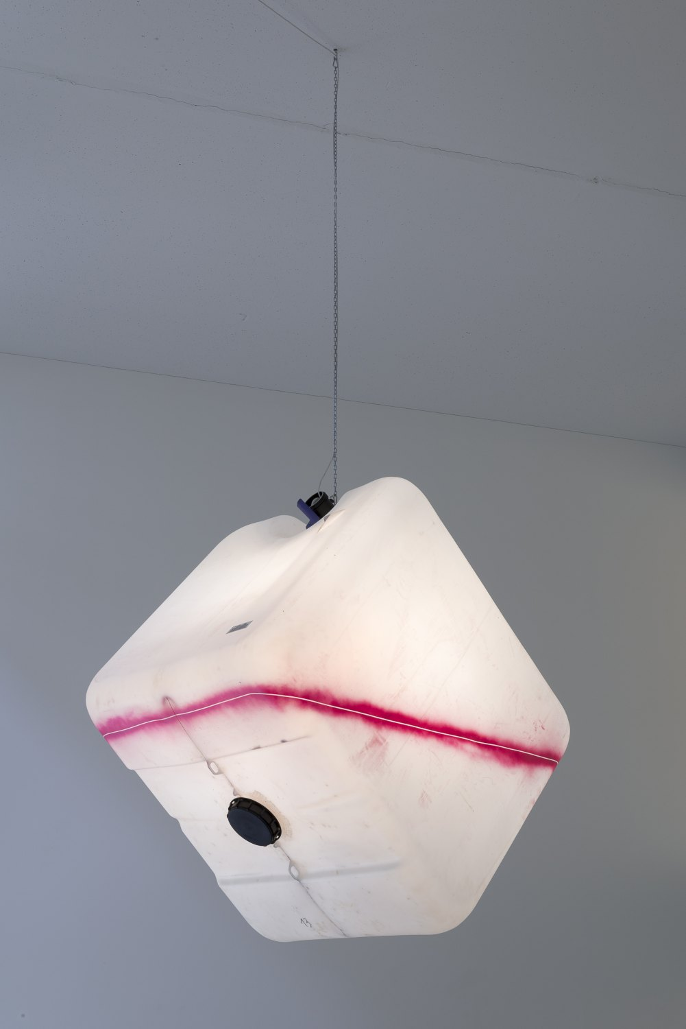 Klara Lidén Untitled, 2015 Lamp, plastic, spray paint, 120 × 100 × 100 cm