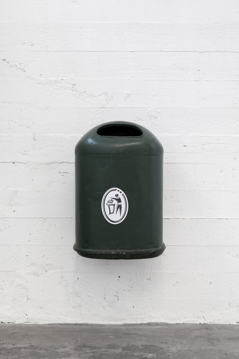 Klara Lidén Untitled (Trashcan), 2015 Mixed media, dimensions variable