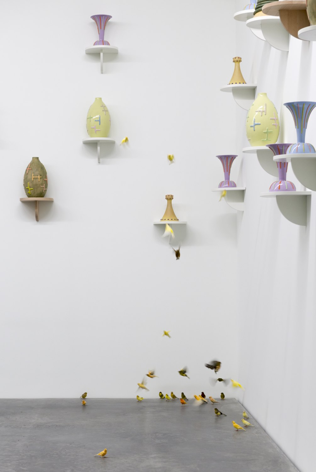 Marc Camille Chaimowicz, Forty and Forty Installation view, Galerie Neu, Berlin 2014