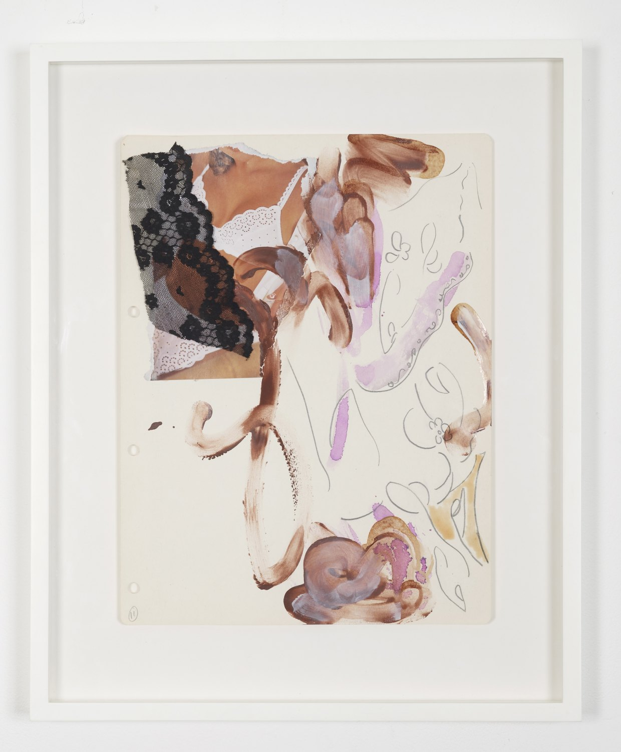 Marc Camille Chaimowicz From Suite One..., 1995 Pencil, ink, and gouache on paper, 60 × 47 cm