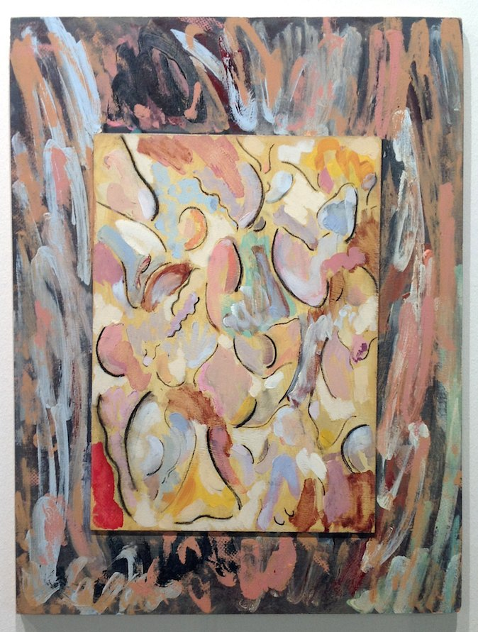Marc Camille Chaimowicz Untitled, September 1993 - March 1994 Oil on board, 60 × 46 cm
