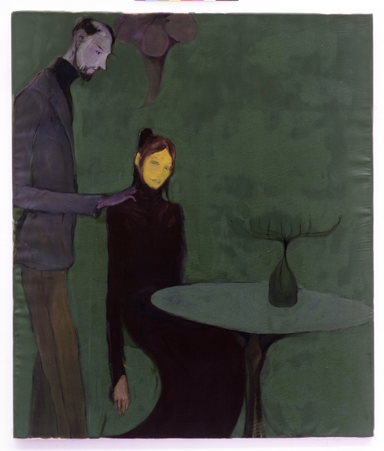 Kai Althoff Untitled, 2004 Oil on canvas, 82.5 × 69.5 cm