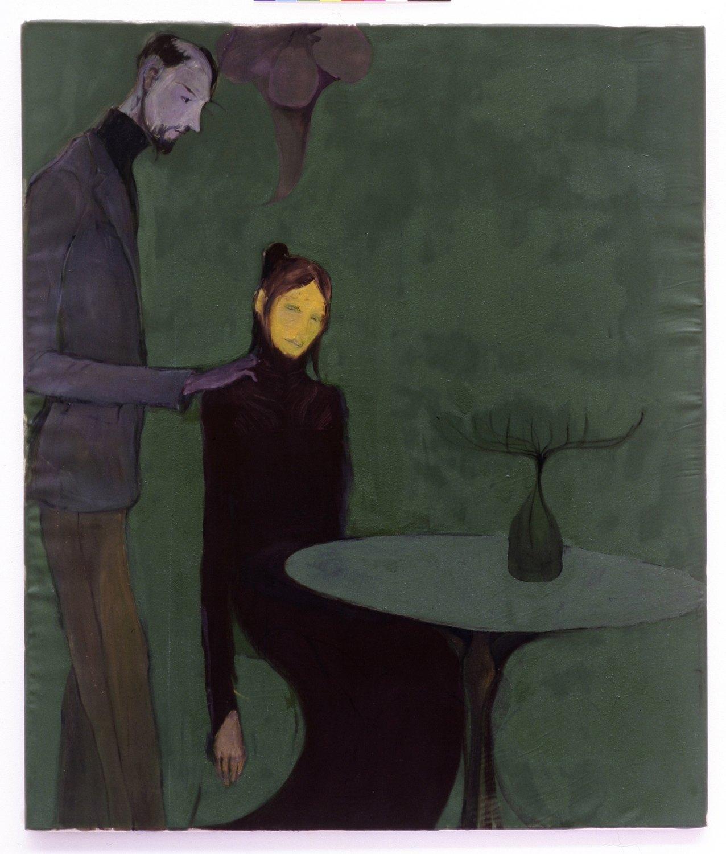 Kai Althoff Untitled, 2004 Oil on canvas, 82.5 × 69.5 cm