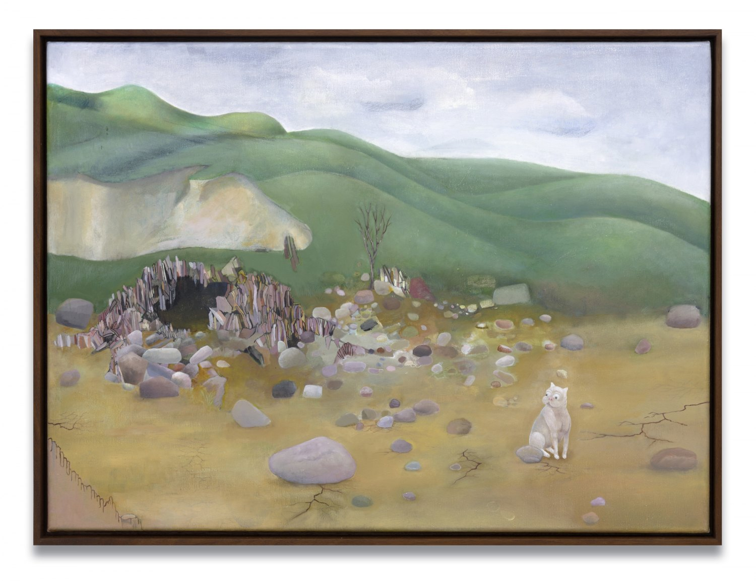 Katharina Wulff   Nach dem Dreißigjährigen Krieg / After the Thirty Years' War, 2007    Oil on canvas,  56 × 76 cm