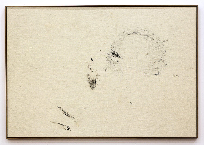 Sergej Jensen Untitled, 2015 Acrylic on synthetic fiber, 133 × 193 cm