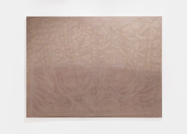 Sergej Jensen Untitled, 2015 Acrylic on sewn linen, 150 × 205 cm