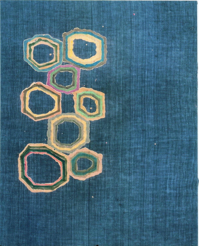 Sergej Jensen Untitled, 2001 Latex on linen,  200 × 150 cm