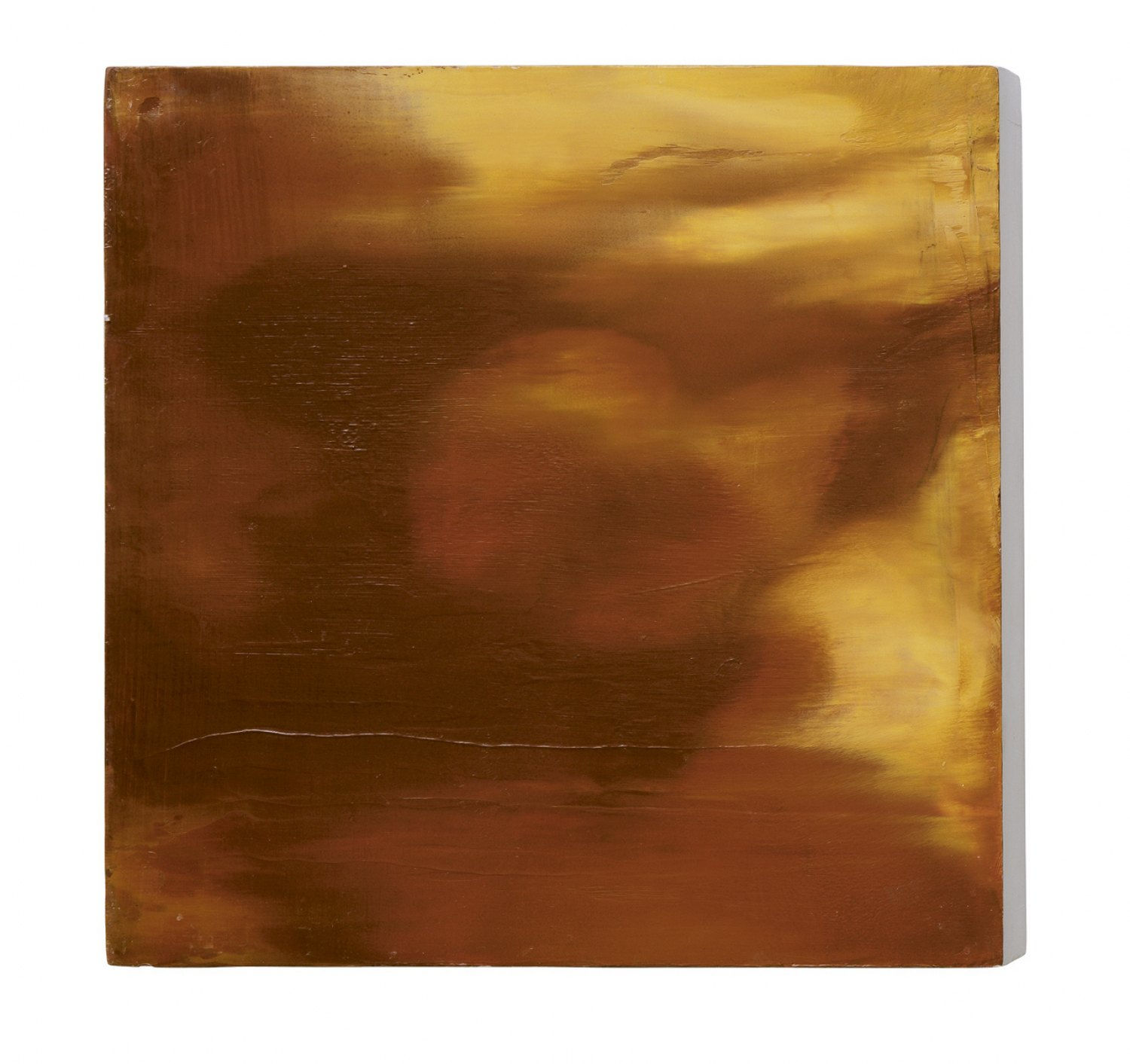 Ull Hohn Untitled, 1998 Oil and varnish on wood, 35.56 × 35.56 × 5.08 cm