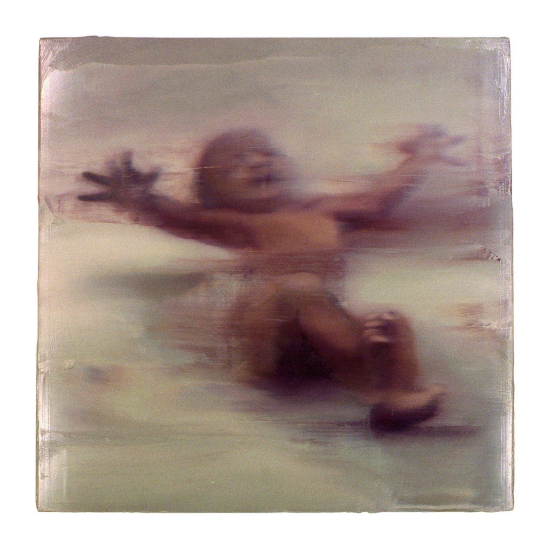 Ull Hohn Untitled (Infant), 1991 Oil on wooden box, 71 × 71 × 9.5 cm