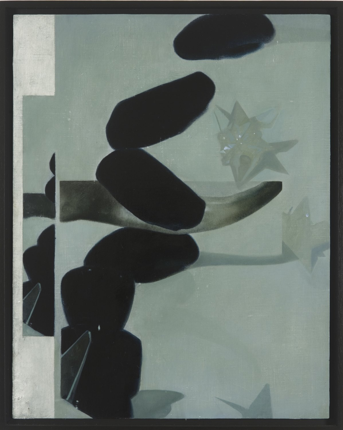 Victor Man Pagan Space, 2010 Oil on linen mounted on wood, 42 × 33 cm