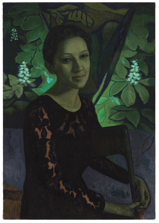 Victor Man Untitled (Connaissez-vous des Esseintes?), 2015 Oil on canvas, 101 × 71 cm