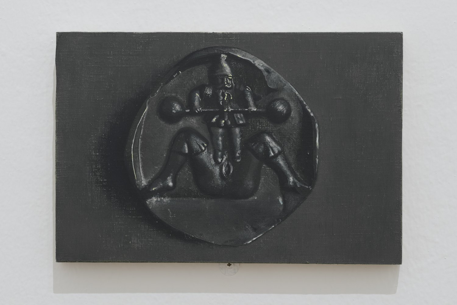 Victor Man Untitled, 2013 Oil on linen mounted on wood, 18 × 27 cm